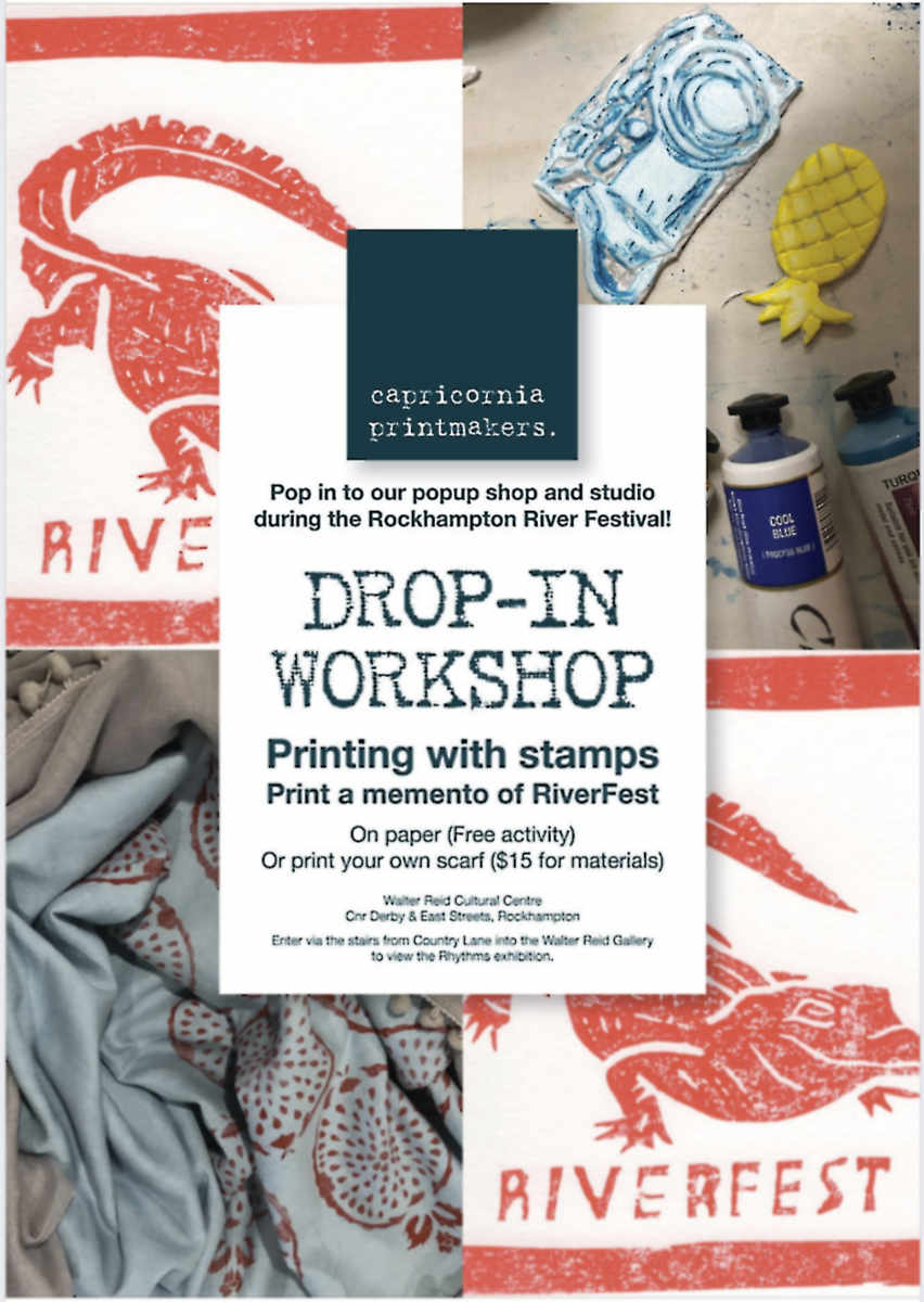 Riverfest 2019 Workshop poster